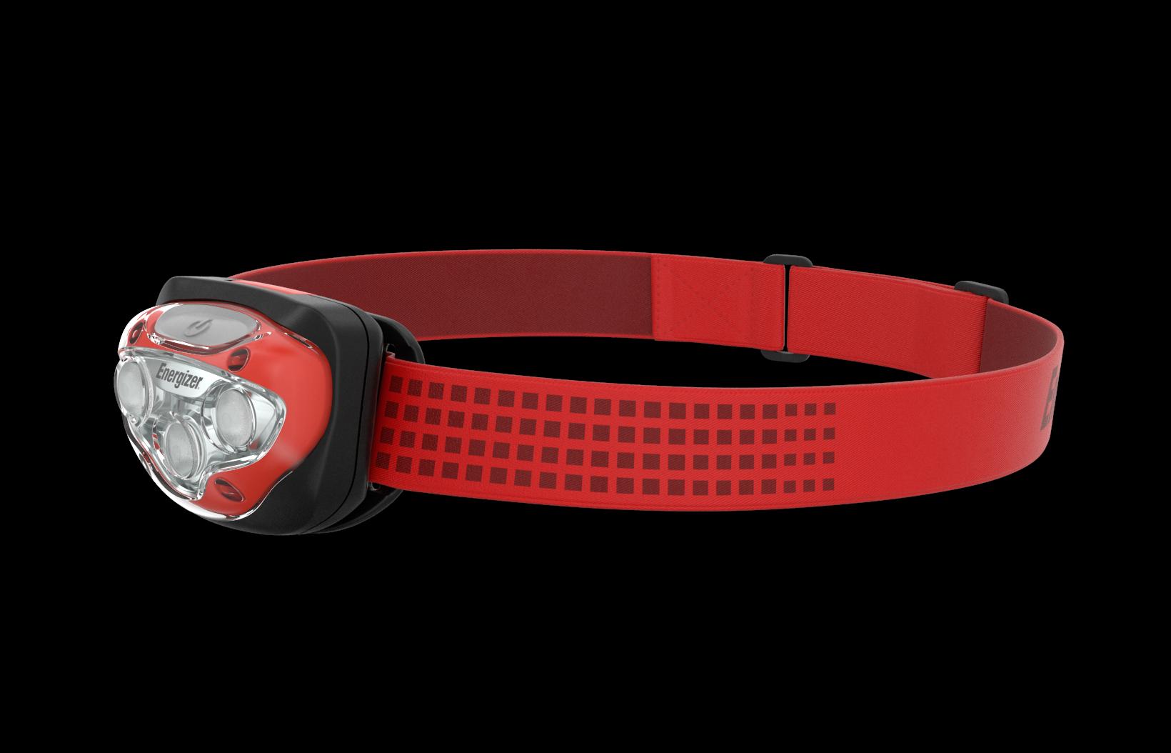 Red Energizer Vision HD Headlamp
