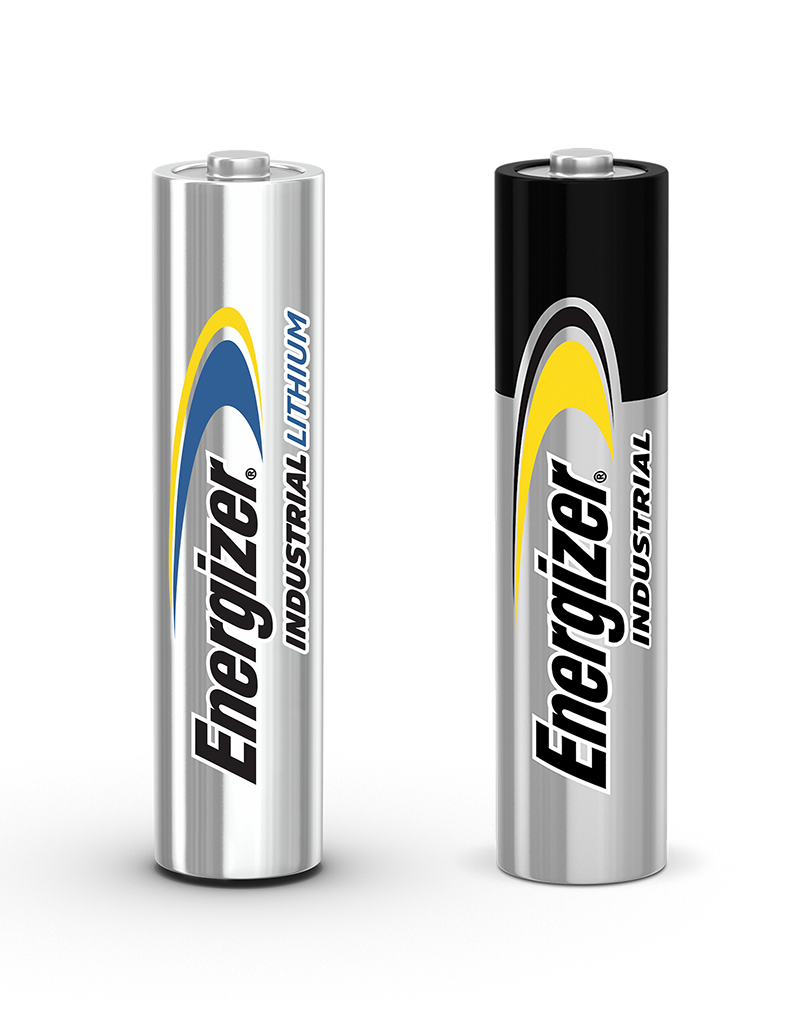 Energizer Industrial Alkaline and Lithium AA Batteries